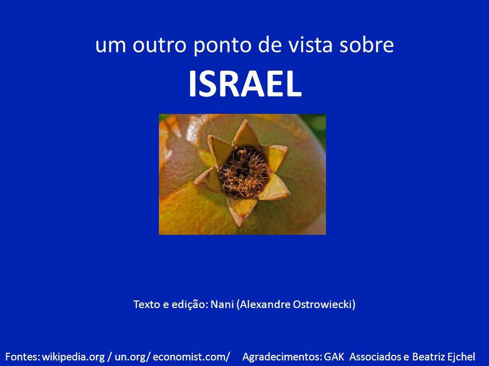 ISRAEL um outro ponto de vista sobre