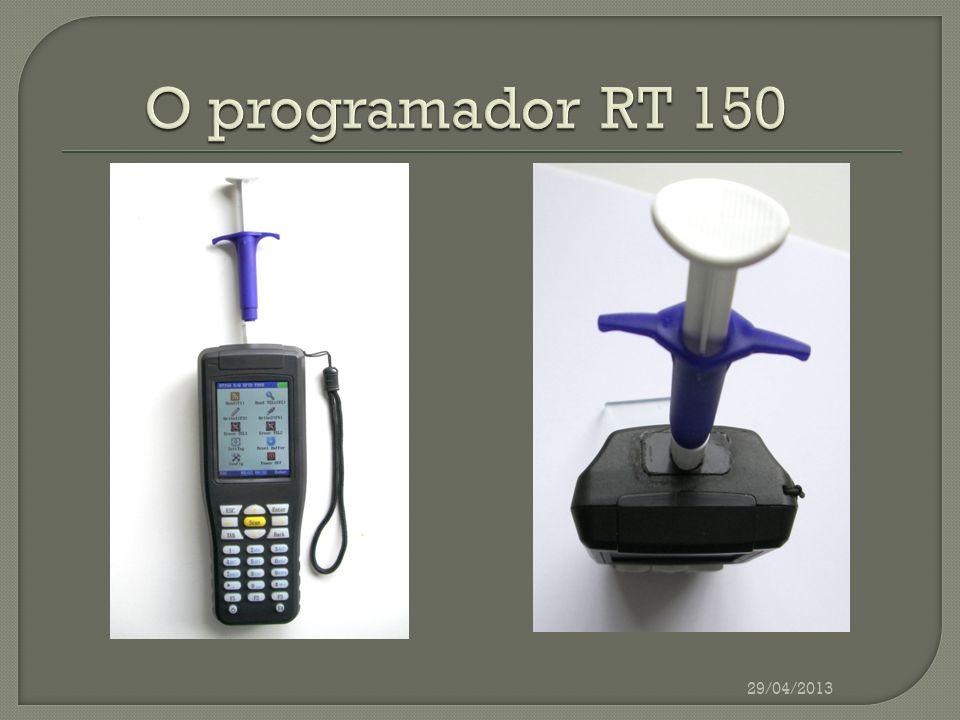 O programador RT 150 29/04/2013