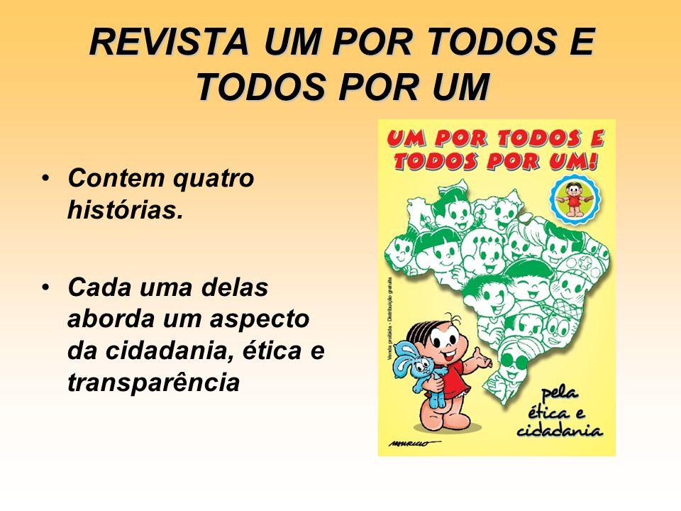 REVISTA UM POR TODOS E TODOS POR UM