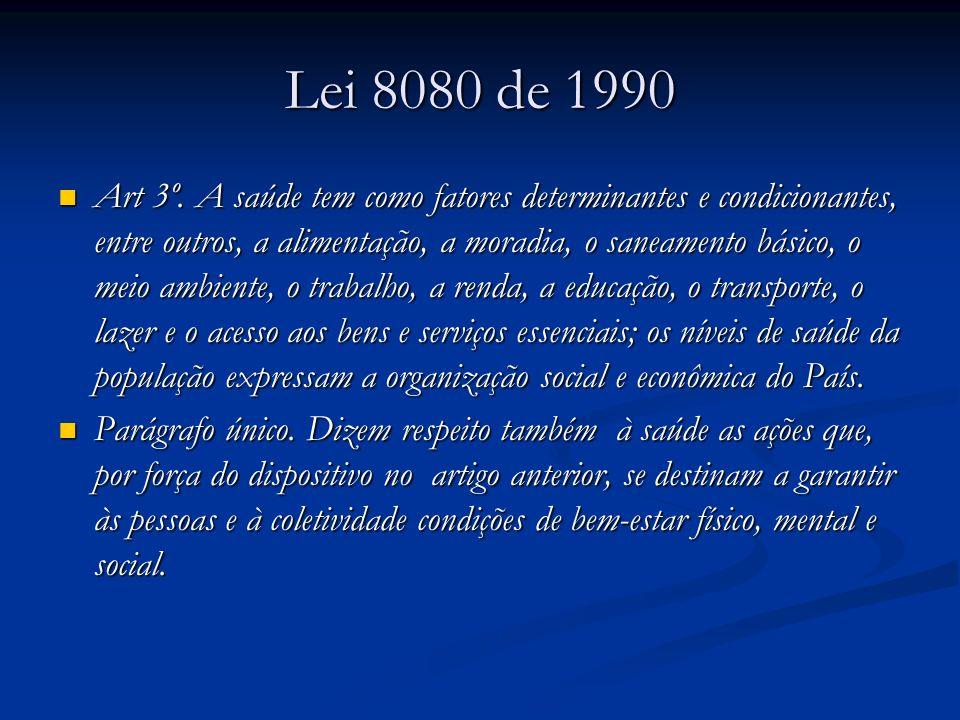 Lei 8080 de 1990