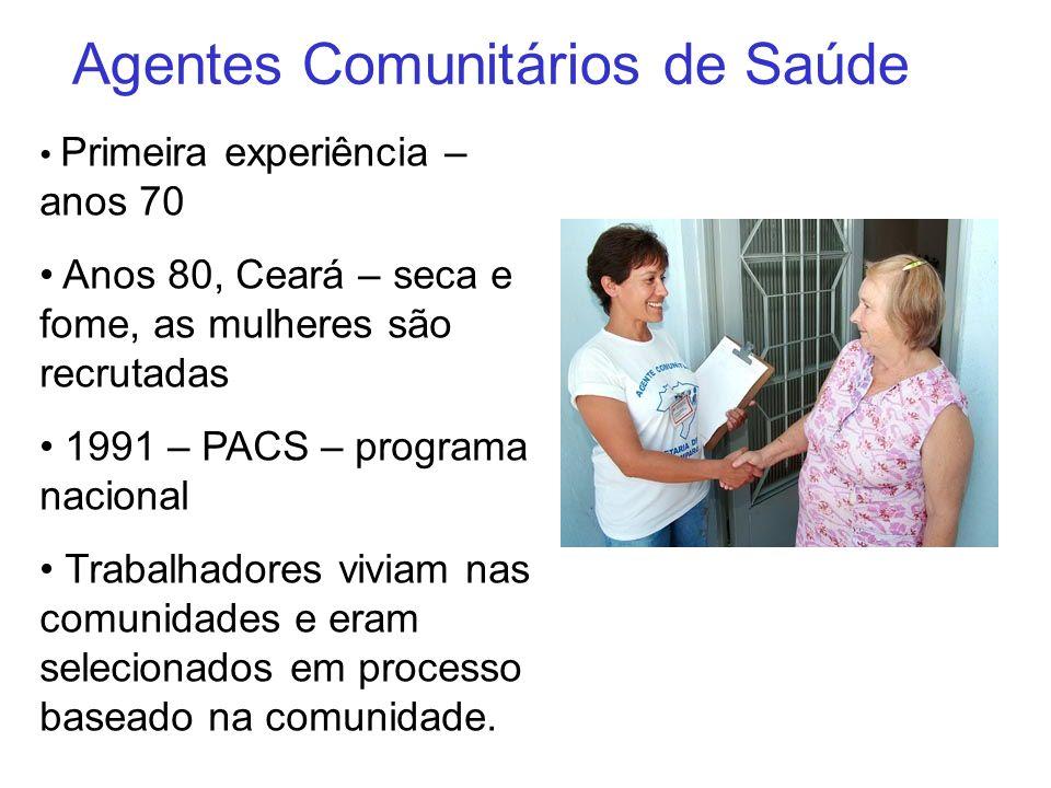 Agentes Comunitários de Saúde