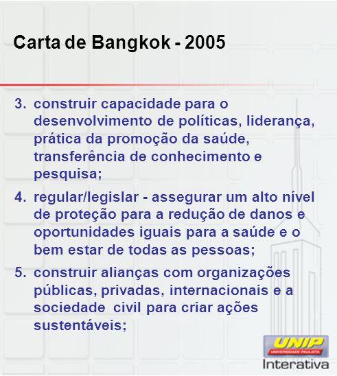 Carta de Bangkok - 2005
