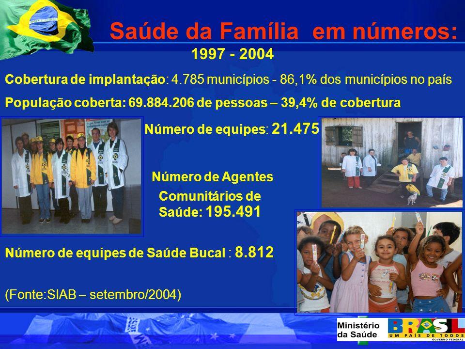 Saúde da Família em números:
