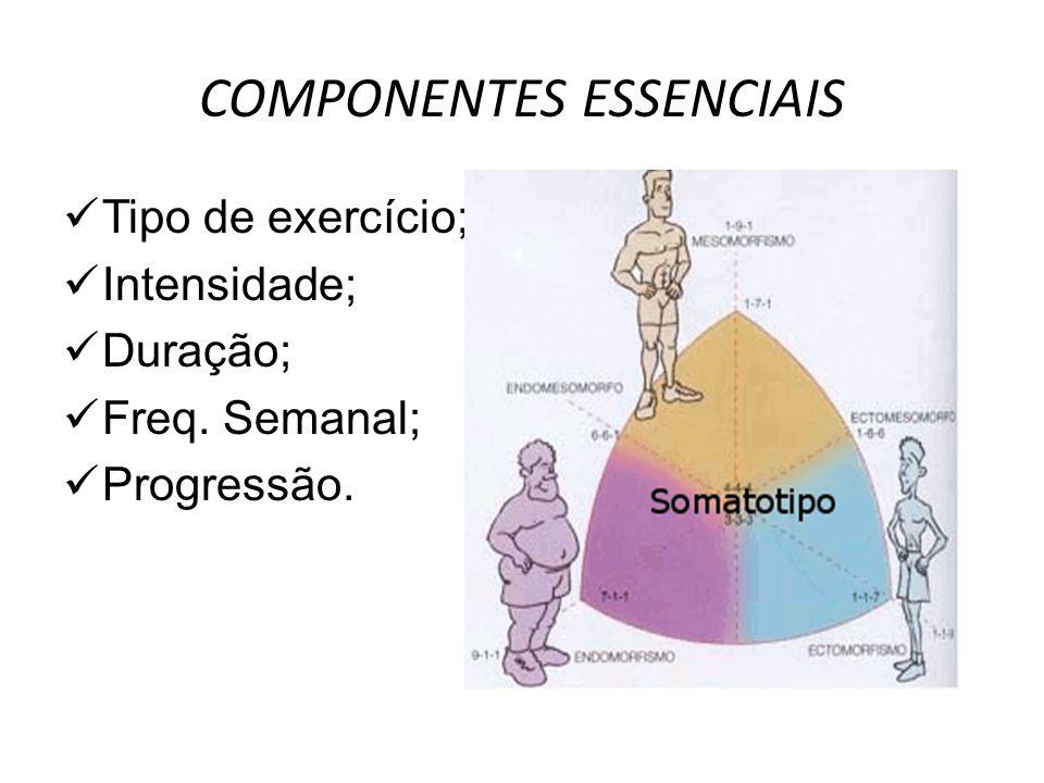 COMPONENTES ESSENCIAIS