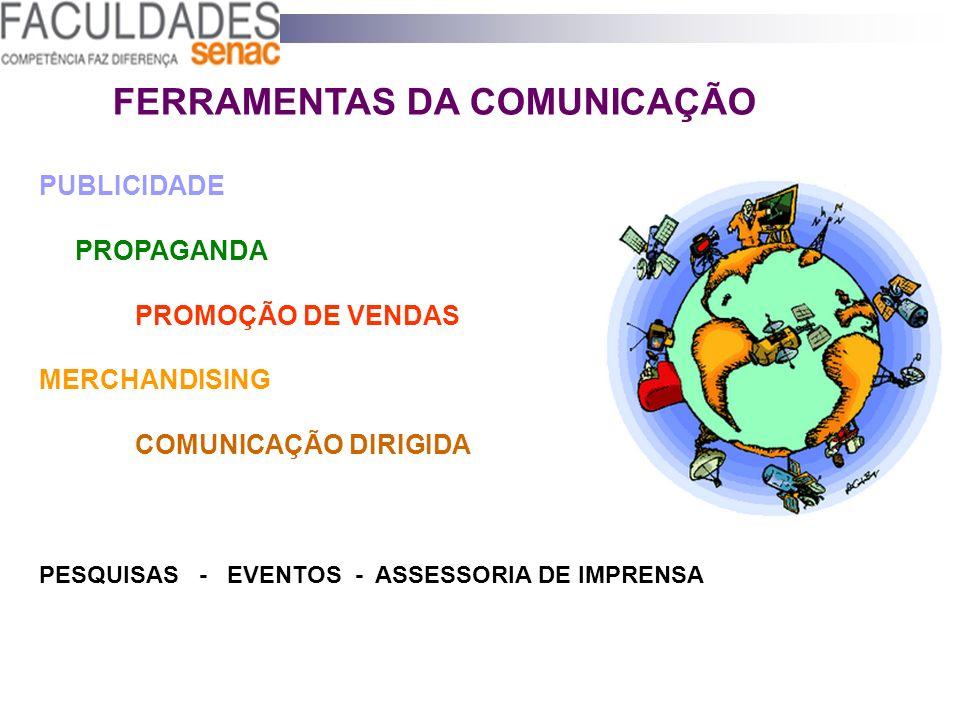 FERRAMENTAS DA COMUNICAÇÃO