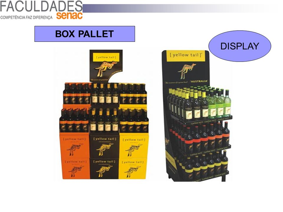 BOX PALLET DISPLAY 58