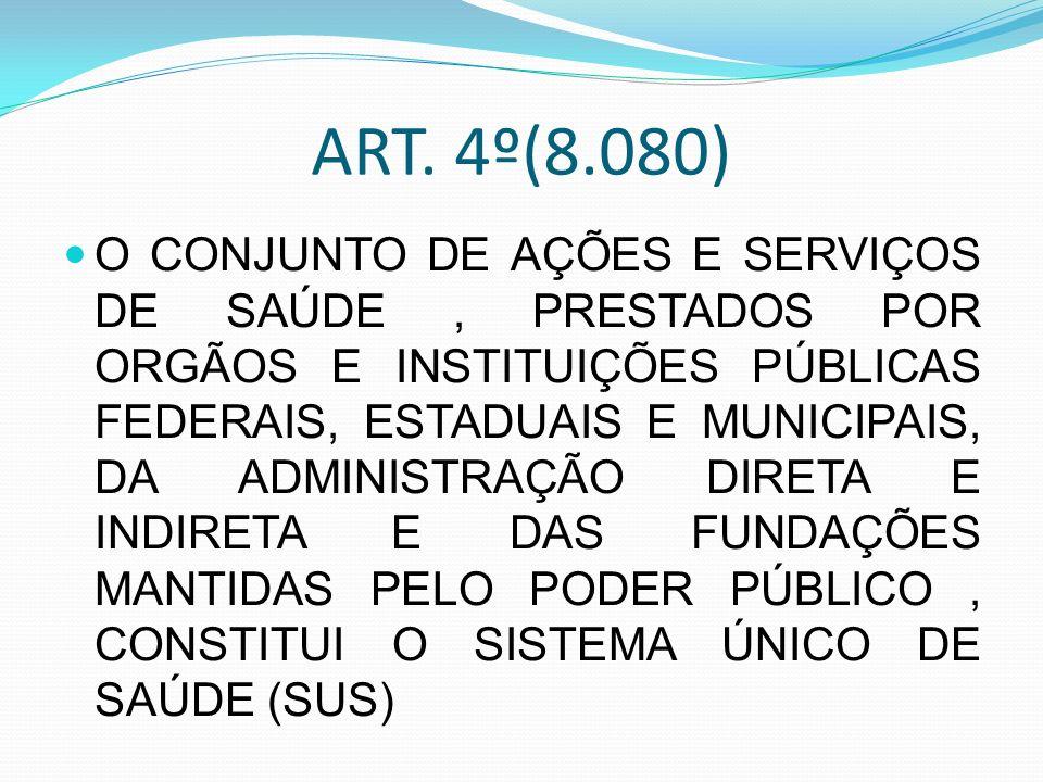 ART. 4º(8.080)