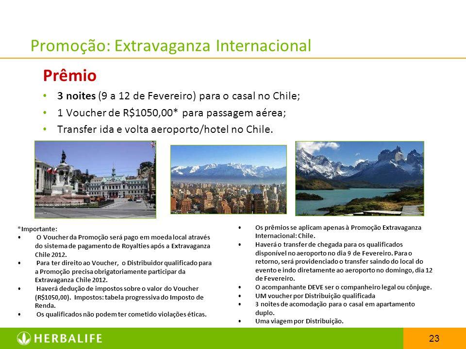 Promoção: Extravaganza Internacional