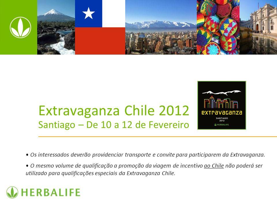 Extravaganza Chile 2012 Santiago – De 10 a 12 de Fevereiro