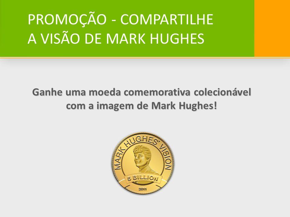 Ganhe uma moeda comemorativa colecionável com a imagem de Mark Hughes!