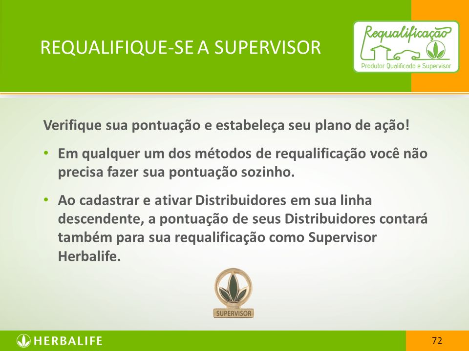 REQUALIFIQUE-SE A SUPERVISOR