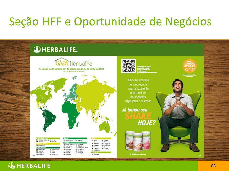 Seção HFF e Oportunidade de Negócios