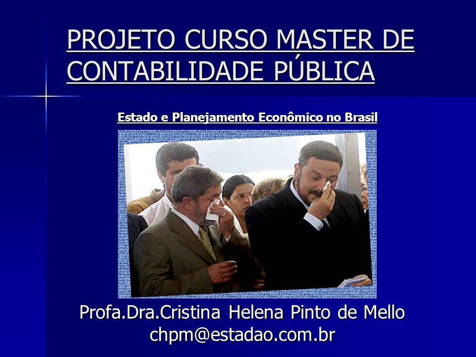 PROJETO CURSO MASTER DE CONTABILIDADE PÚBLICA