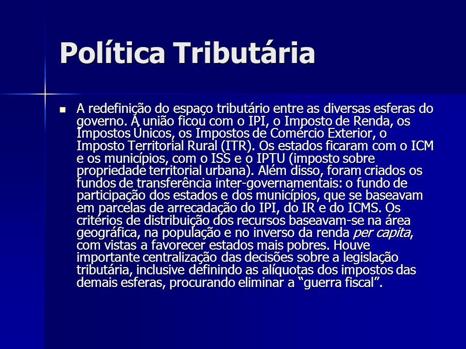 Política Tributária