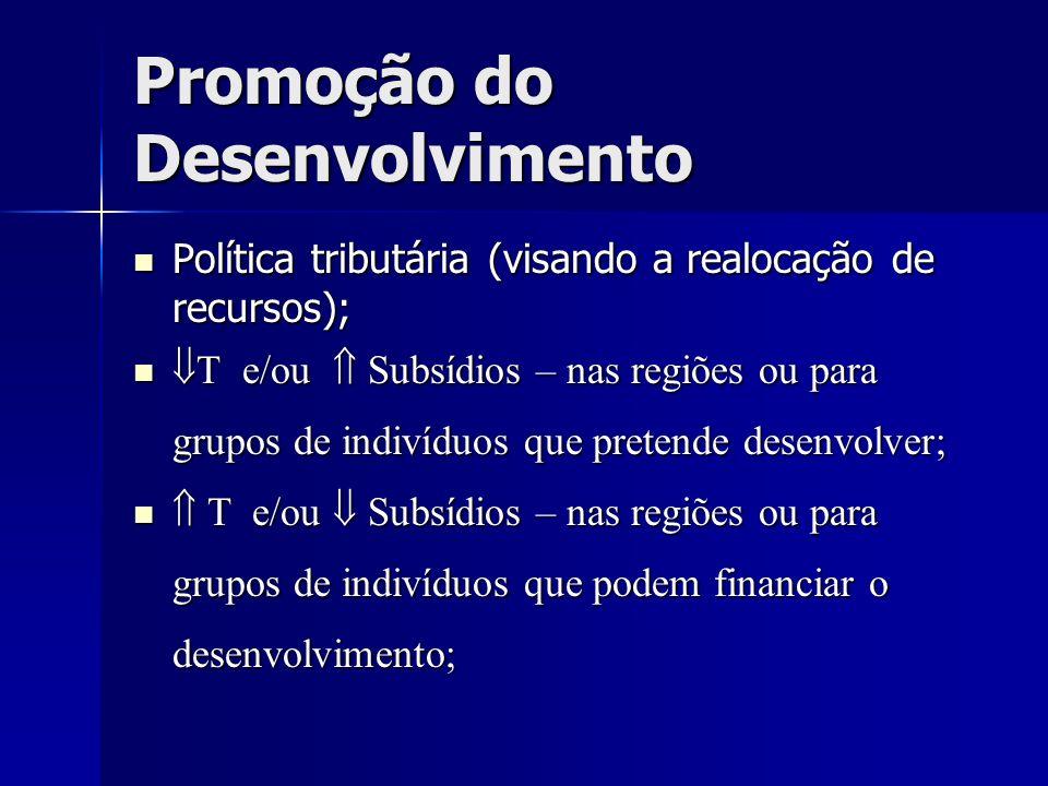 Promoção do Desenvolvimento