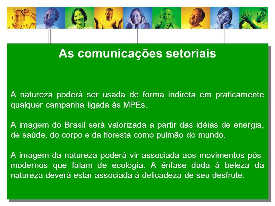 As comunicações setoriais