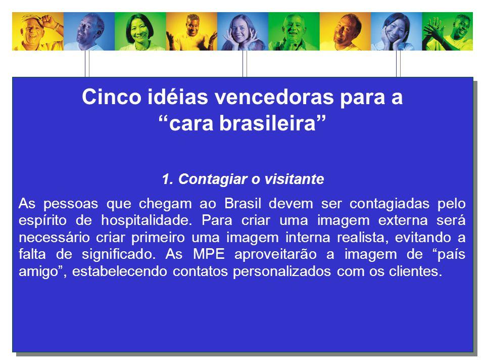 Cinco idéias vencedoras para a cara brasileira