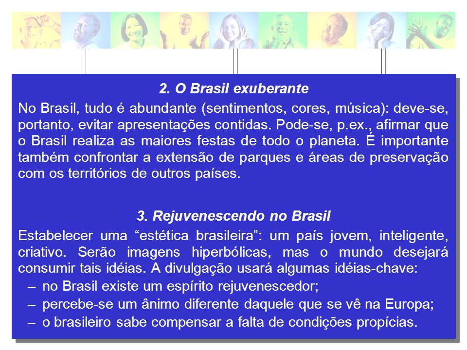3. Rejuvenescendo no Brasil