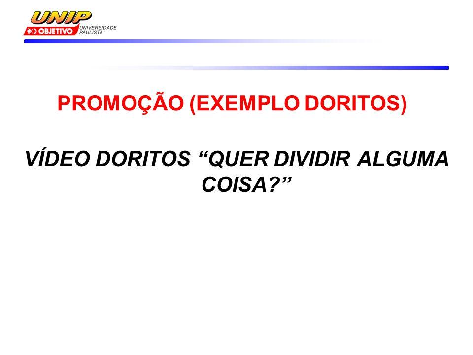 VÍDEO DORITOS QUER DIVIDIR ALGUMA COISA PROMOÇÃO (EXEMPLO DORITOS)