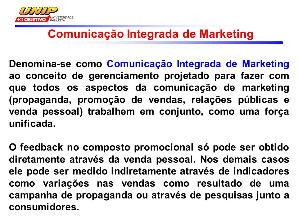 Comunicação Integrada de Marketing