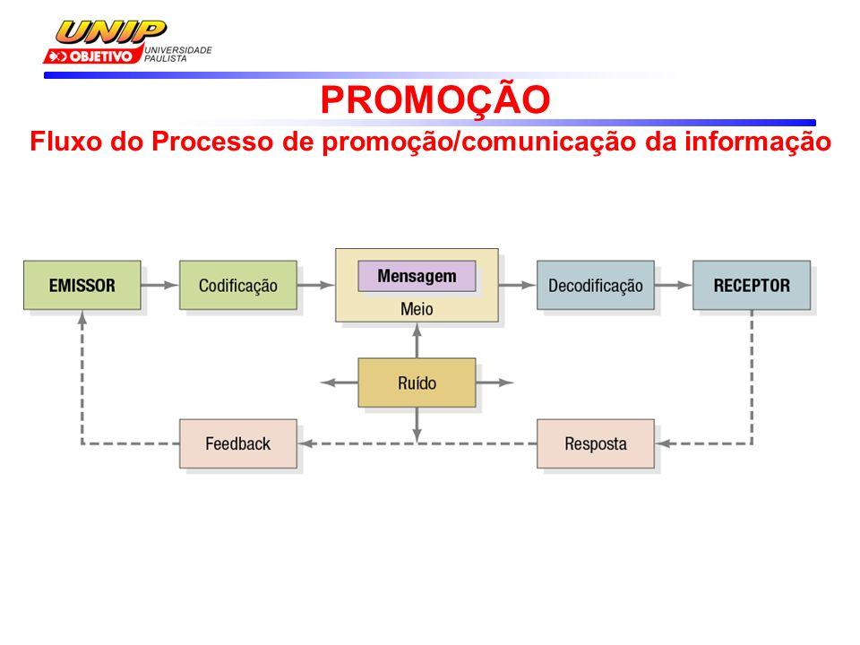 Fluxo do Processo de promoção/comunicação da informação