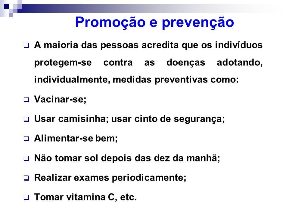 Promoção e prevenção