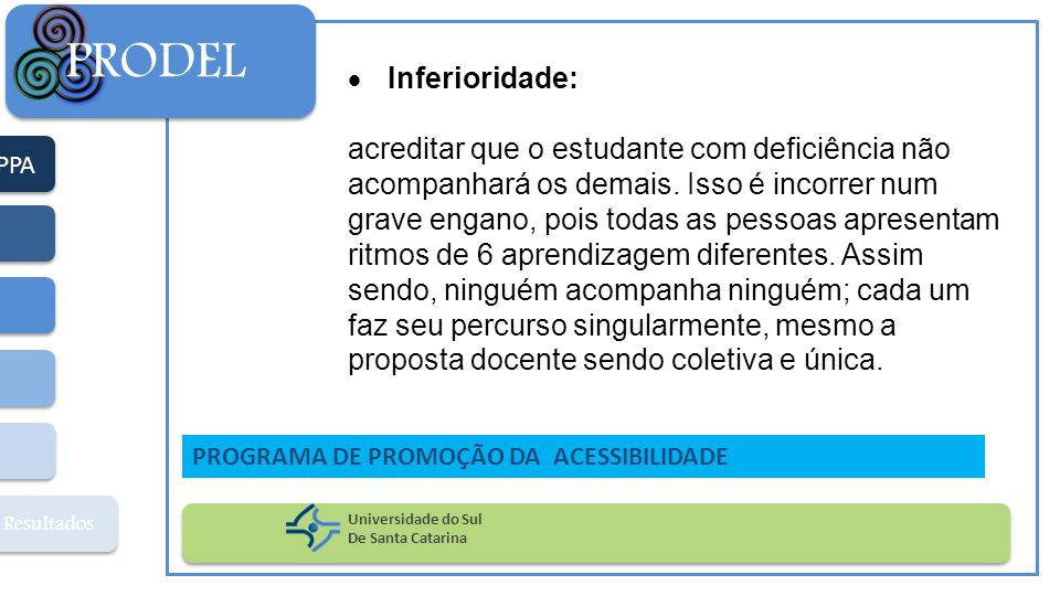 PRODEL Inferioridade: