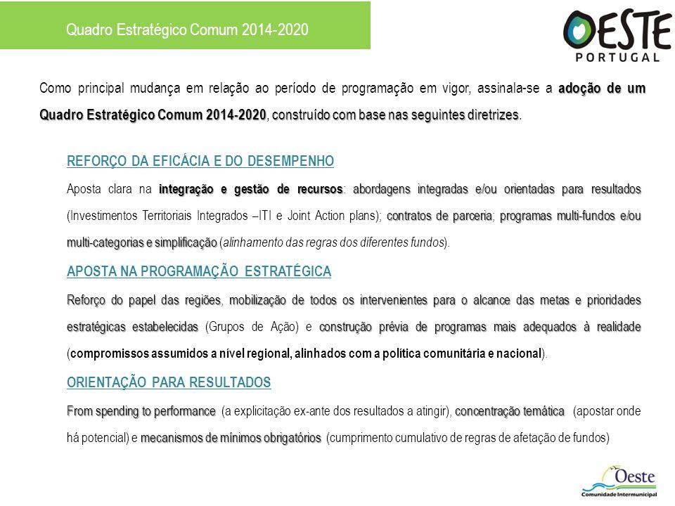 Quadro Estratégico Comum 2014-2020