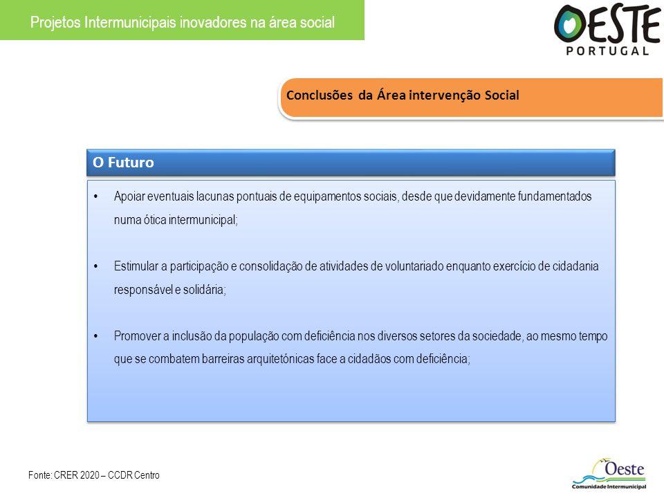 Projetos Intermunicipais inovadores na área social