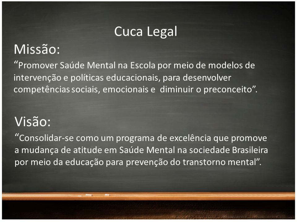 Cuca Legal Missão: Visão: