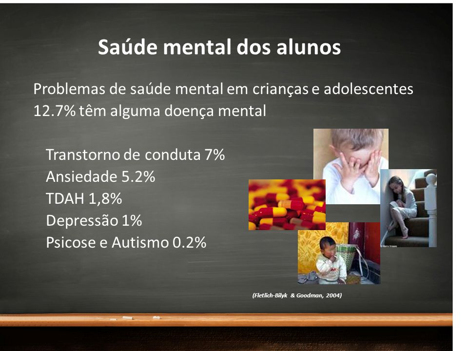 Saúde mental dos alunos