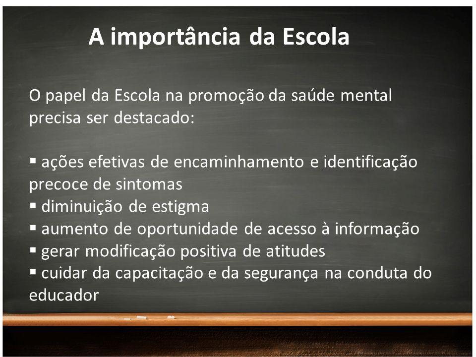 A importância da Escola