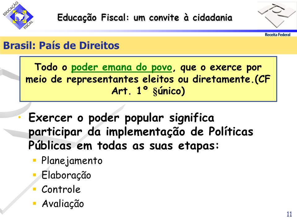 Brasil: País de Direitos