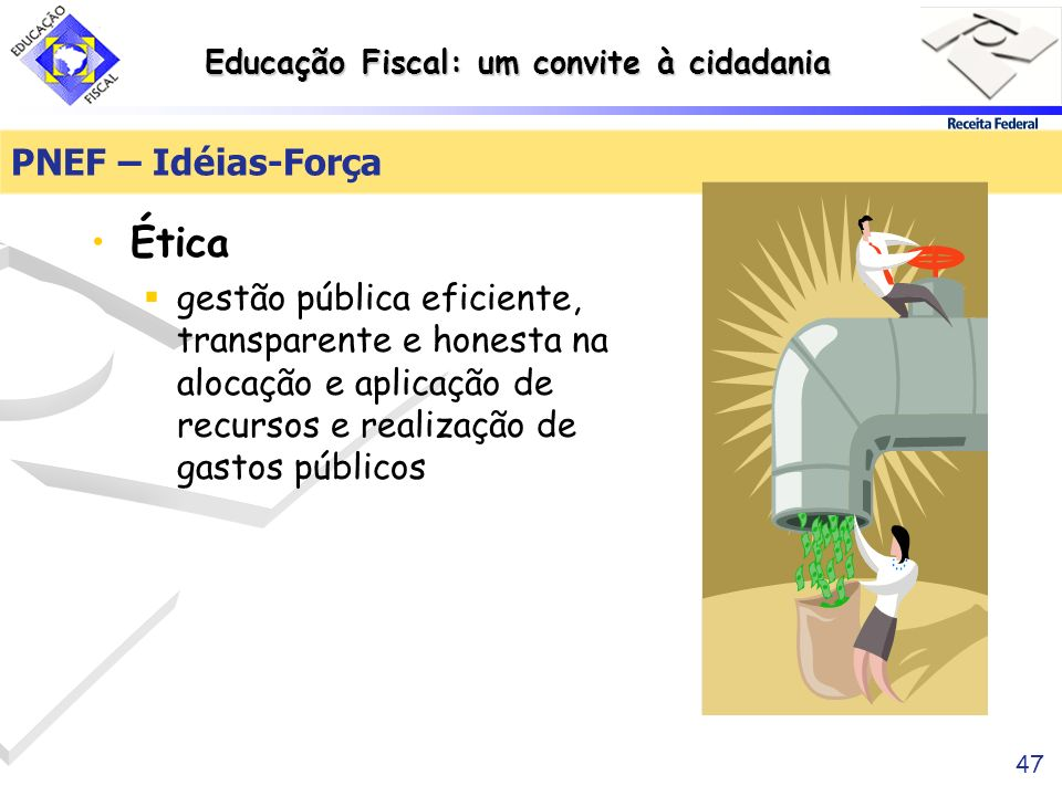 Ética PNEF – Idéias-Força