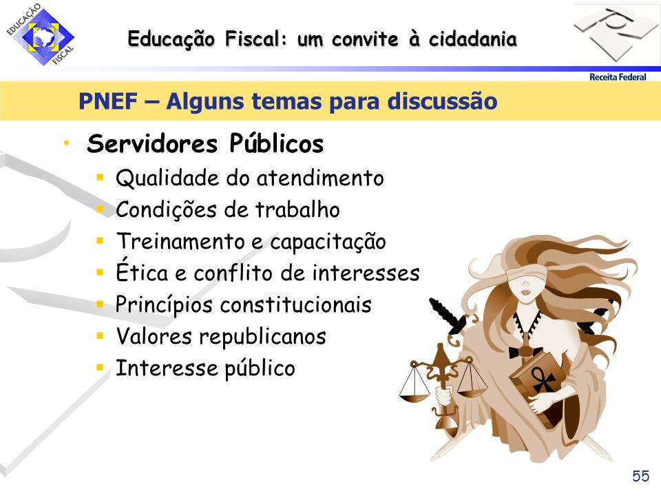 PNEF – Alguns temas para discussão