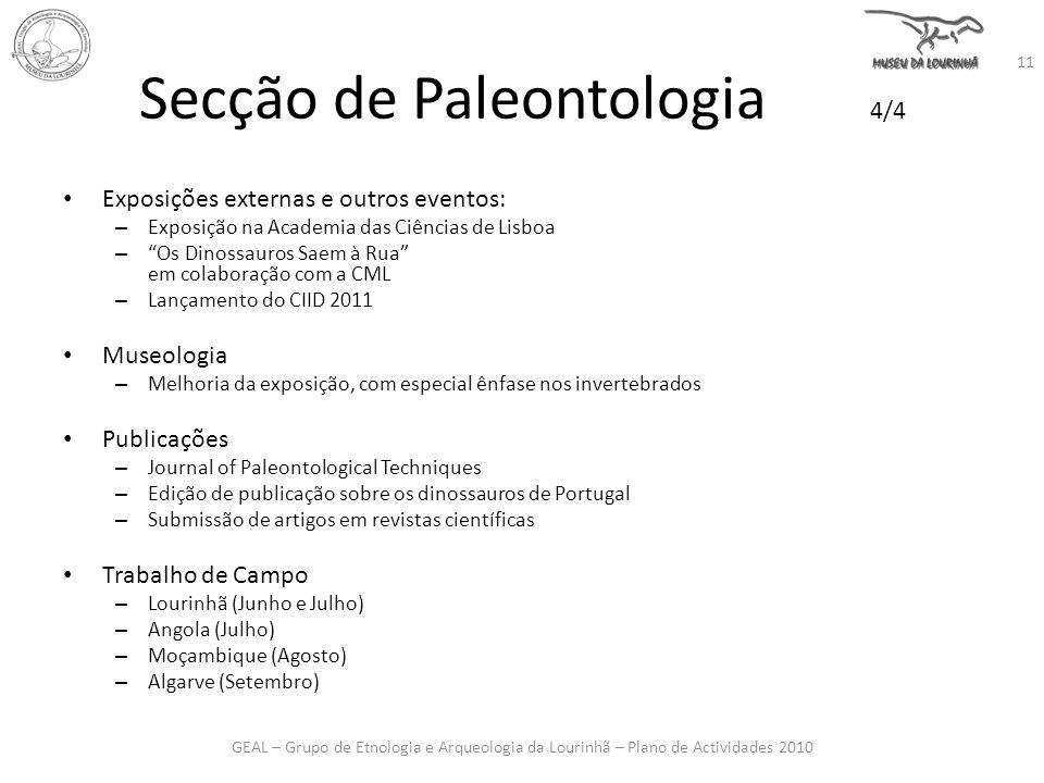 Secção de Paleontologia 4/4