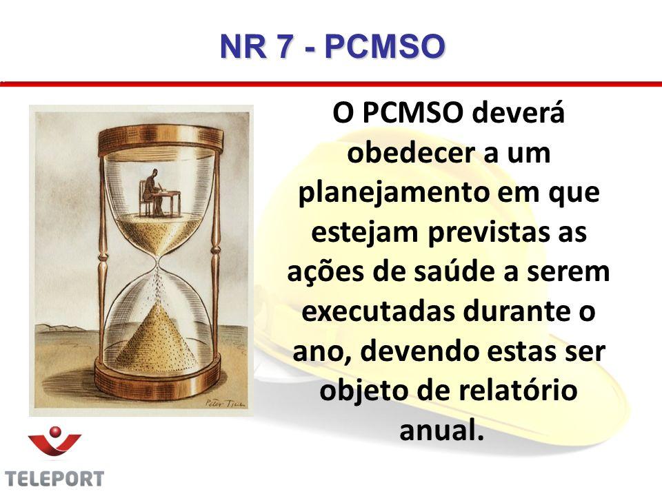 NR 7 - PCMSO