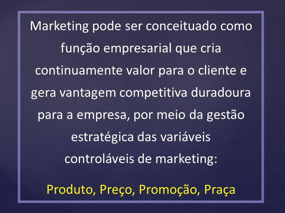 Produto, Preço, Promoção, Praça