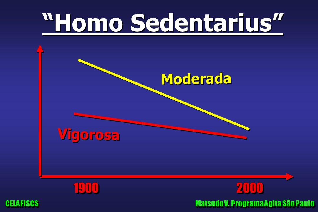 Homo Sedentarius Moderada Vigorosa 1900 2000 CELAFISCS