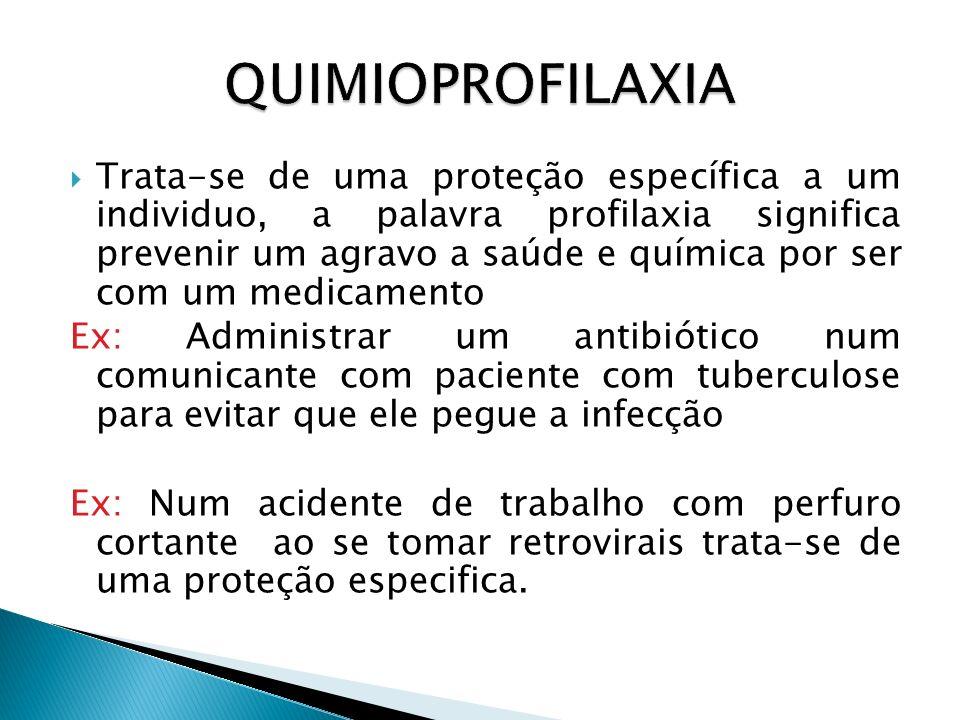 QUIMIOPROFILAXIA