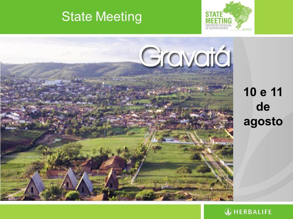 State Meeting 10 e 11 de agosto