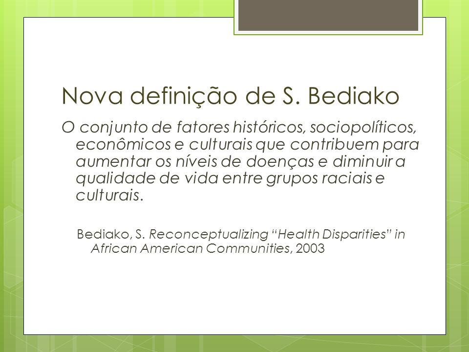 Nova definição de S. Bediako