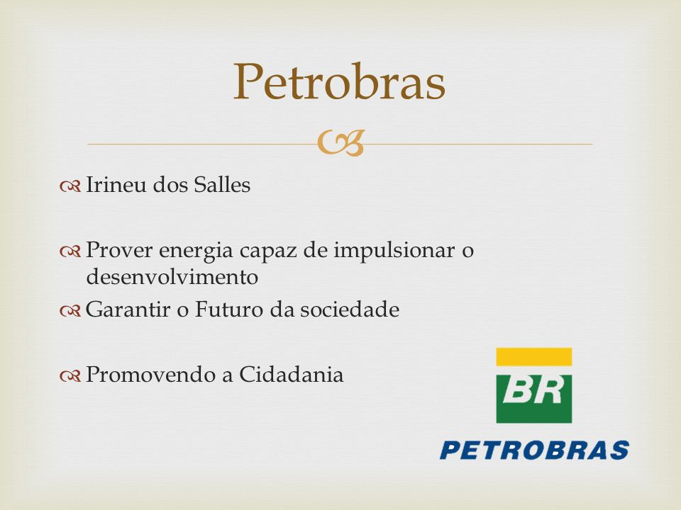 Petrobras Irineu dos Salles
