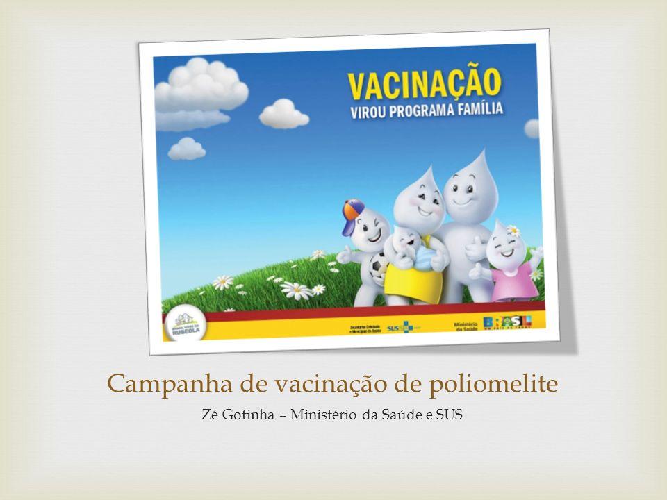 Campanha de vacinação de poliomelite