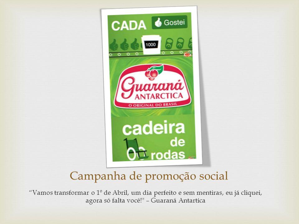 Campanha de promoção social