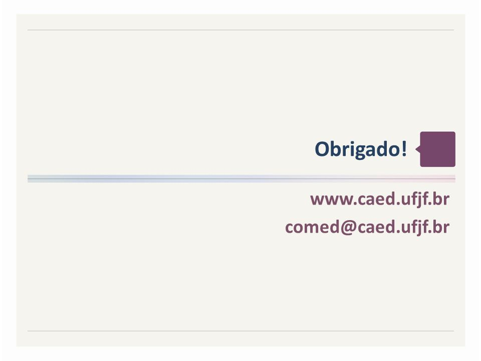 www.caed.ufjf.br comed@caed.ufjf.br