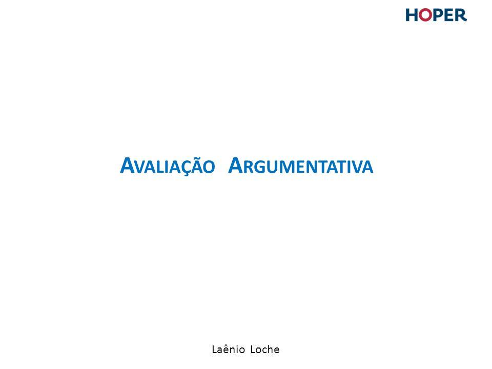 Avaliação Argumentativa