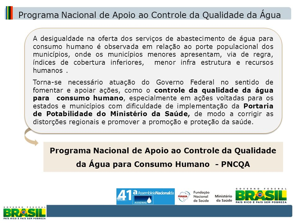 Programa Nacional de Apoio ao Controle da Qualidade da Água
