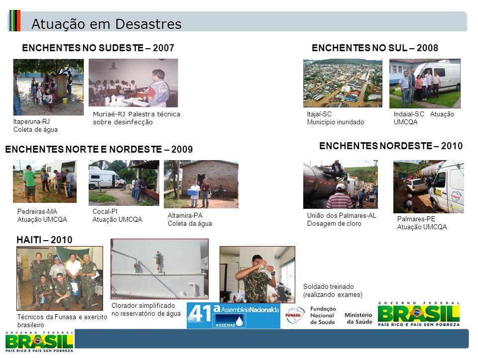 ENCHENTES NORTE E NORDESTE – 2009