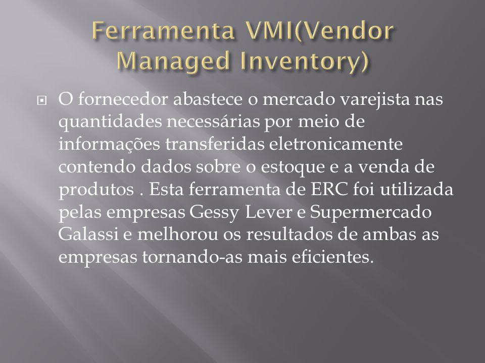 Ferramenta VMI(Vendor Managed Inventory)